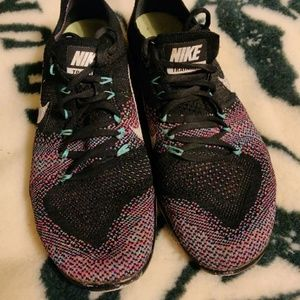 Nike free focus Flyknit 2 training shoes